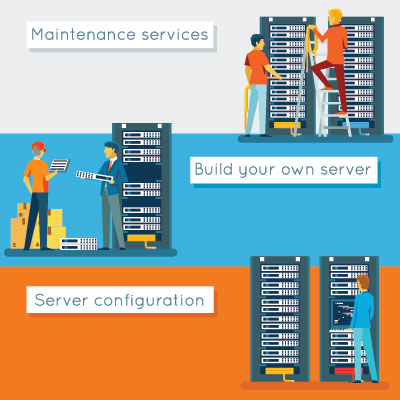 server management Houston TX